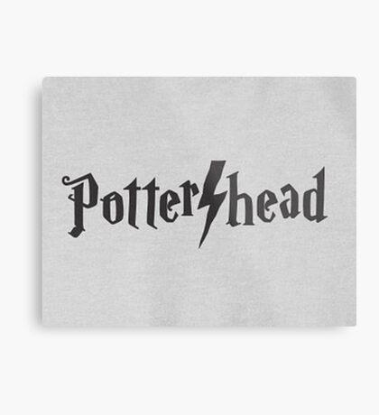 Potter head Metal Print