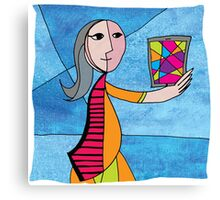 LADY PICASSO Canvas Print