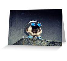 Watcher Greeting Card