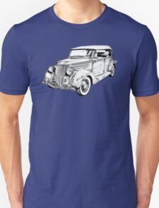 1936 Ford Phaeton Convertible Illustration  T-Shirt