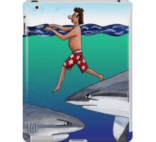 Chickens and Sharks iPad Case/Skin