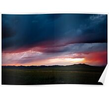 Wildfire Skies over Russia  Poster
