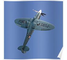 "Supermarine Spitfire PR.XIX PS915 ""The Last"" Poster"
