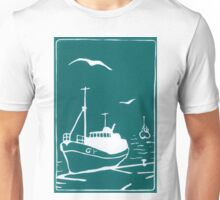 Trawlers - Comrades in Turquoise Unisex T-Shirt