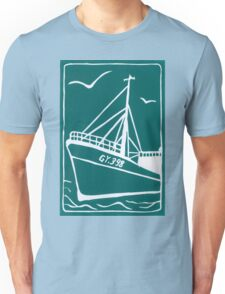 Trawlers Ross Tiger in Turquoise Unisex T-Shirt