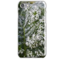 Icy needles on savoy cale iPhone Case/Skin
