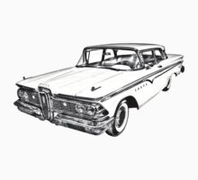 1959 Edsel Ford Ranger Illustration Kids Clothes