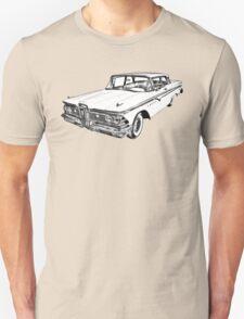 1959 Edsel Ford Ranger Illustration Unisex T-Shirt