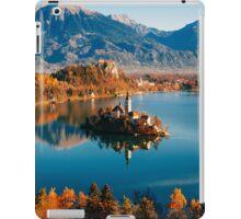 Lake Bled in Autumn  iPad Case/Skin