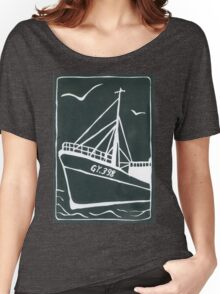 Ross Tiger in Grey Women's Relaxed Fit T-Shirt