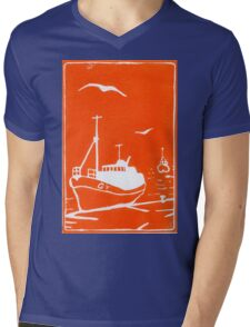 Comrades in Orange Mens V-Neck T-Shirt