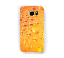 colorful pink and blue water droplets Samsung Galaxy Case/Skin