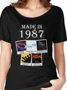 Made in 1987, main historical events Women's Relaxed Fit T-Shirt