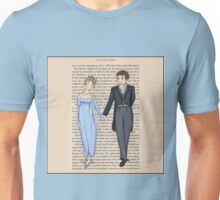 Elizabeth Bennet and Mr Darcy Unisex T-Shirt