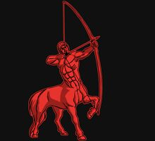 Red Centaur Aiming High T-Shirt by Cheerful Madness!! Unisex T-Shirt