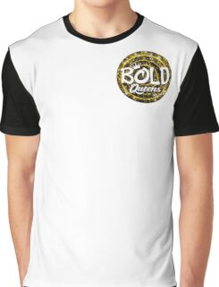 BOLD QUEENS Logo  Graphic T-Shirt