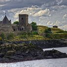 Rocks at Inchcolm by Tom Gomez