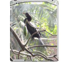 Little Cormorant on a tree iPad Case/Skin