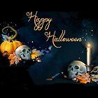 Happy Halloween Skulls by Barbny