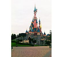 Disneyland Paris- Castle Photographic Print