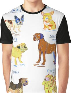Doggies Graphic T-Shirt