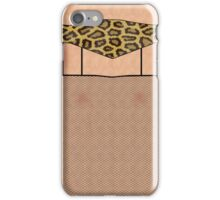 Fishnet Stockings and Leopard Skin Knickers iPhone Case/Skin