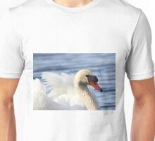 Mute swan portrait Unisex T-Shirt