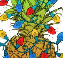 Pineapple Christmas Sticker