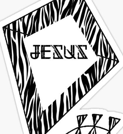 Kite pattern Sticker