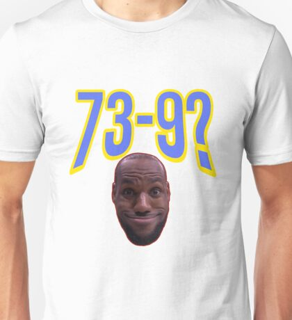 Lebron James Funny Face Unisex T-Shirt