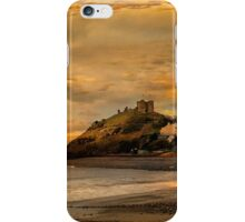 Criccieth Castle at Sunset.  iPhone Case/Skin