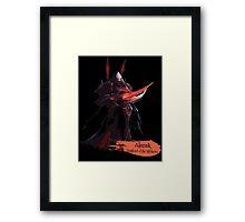 Highlord of the Tal'darim Framed Print