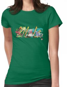 Pokemon Alola Birds Womens Fitted T-Shirt