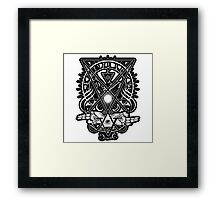 Awakened Luciferian Sigil of Lucifer Framed Print