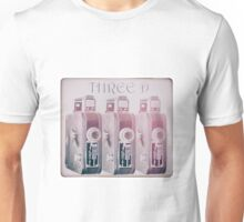 Old movie camera times 3 Unisex T-Shirt