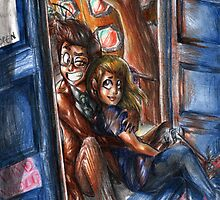The Tenth Doctor and Rose by Furiarossa