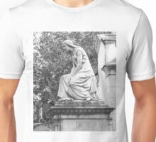 female statue Unisex T-Shirt