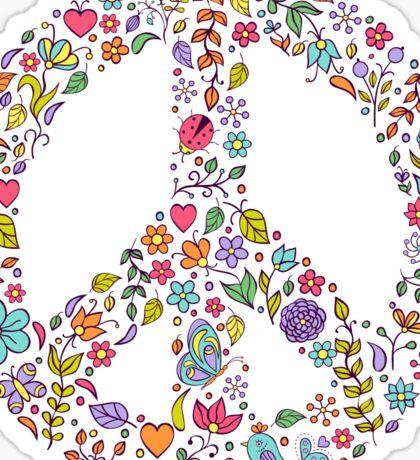 peace symbol Sticker
