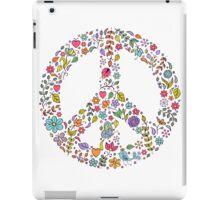 peace symbol iPad Case/Skin