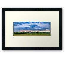 Dramatic Countryside Framed Print