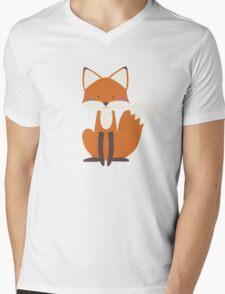 Foxy Friend Mens V-Neck T-Shirt