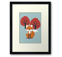 Foxy Friend Framed Print