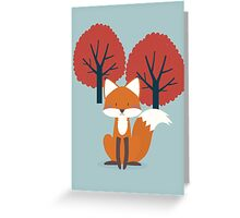 Foxy Friend Greeting Card