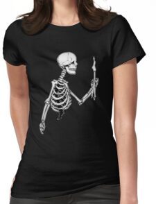 Mortality Womens Fitted T-Shirt