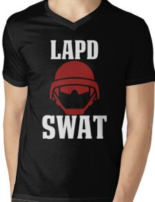 LAPD SWAT Mens V-Neck T-Shirt