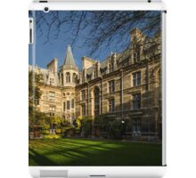 Gonville and Caius College iPad Case/Skin