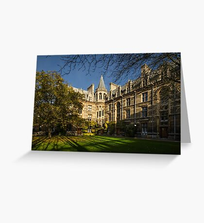 Gonville and Caius College Greeting Card