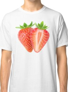 Cut strawberries Classic T-Shirt