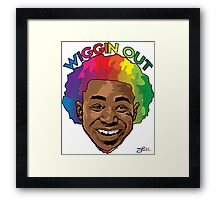 Wiggin Out Framed Print