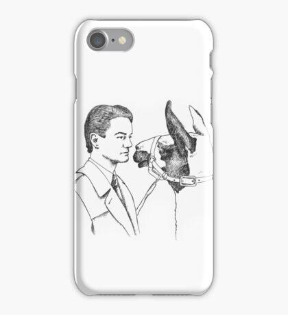 Twin Peaks Llama Scene iPhone Case/Skin